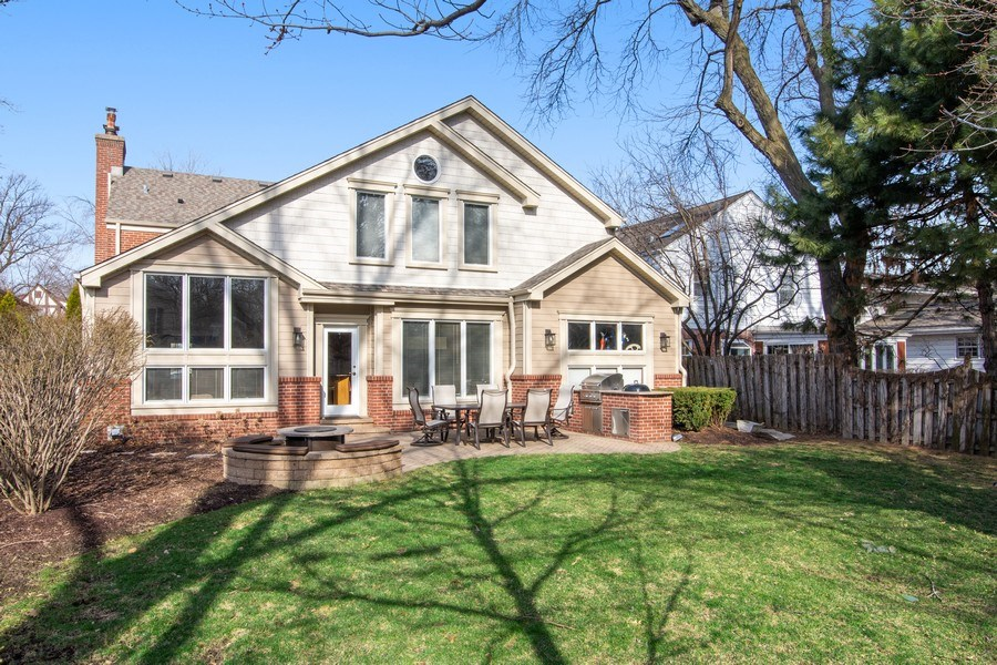 Real Estate Photography - 641 S Bristol, Arlington Heights, IL, 60005 - Rear View