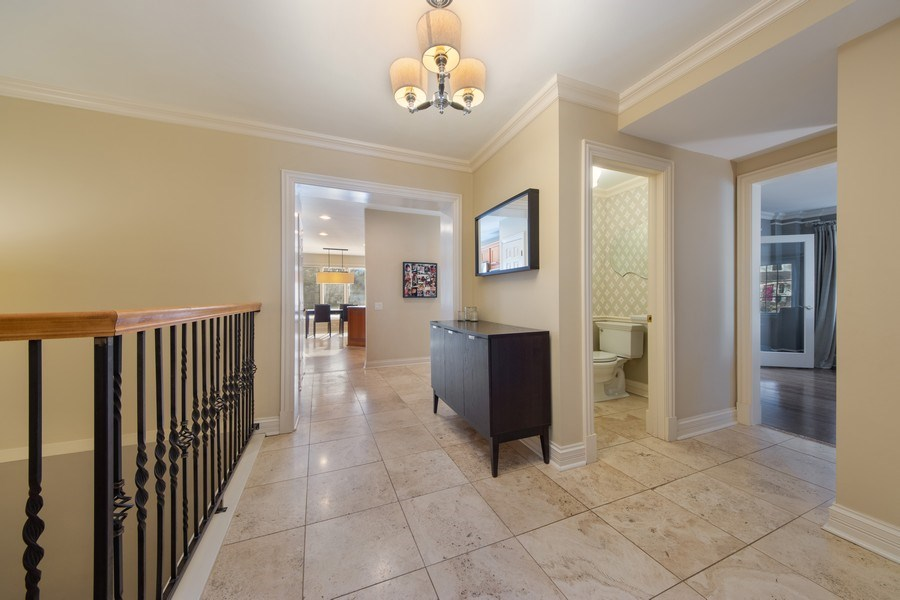 Real Estate Photography - 641 S Bristol, Arlington Heights, IL, 60005 - Staircase