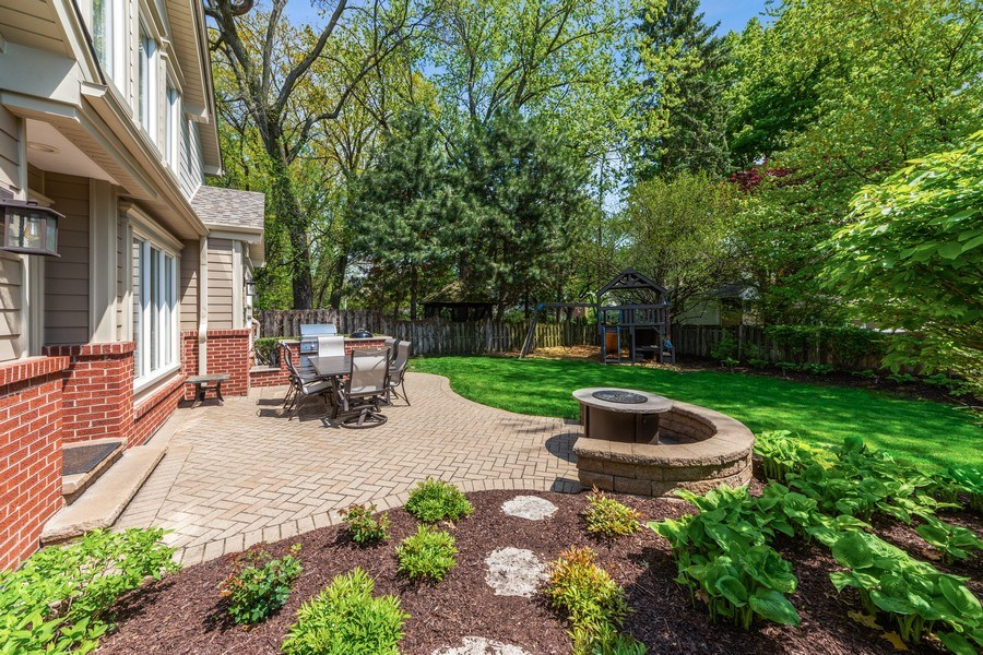 Real Estate Photography - 641 S Bristol, Arlington Heights, IL, 60005 - Patio
