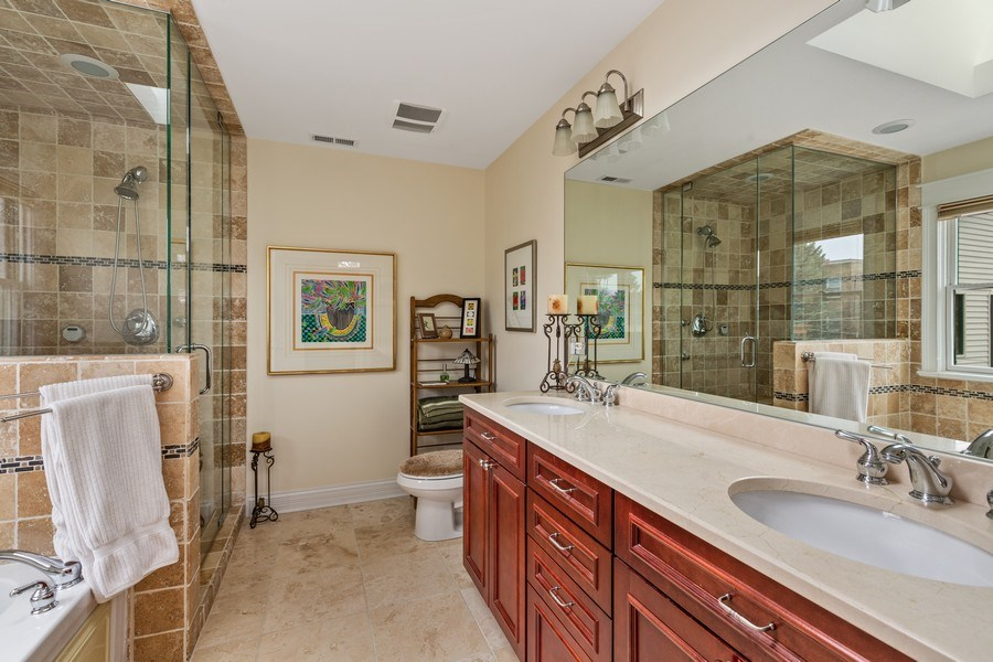 Real Estate Photography - 1957 W. Summerdale Avenue, Chicago, IL, 60640 - Master Bathroom