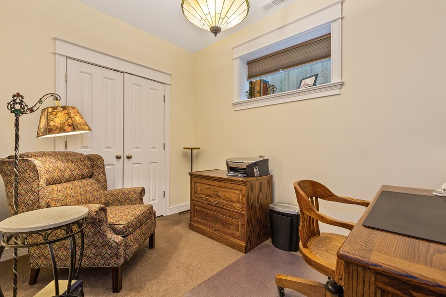 Real Estate Photography - 1957 W. Summerdale Avenue, Chicago, IL, 60640 - 4th Bedroom | Currently Used as Home Office