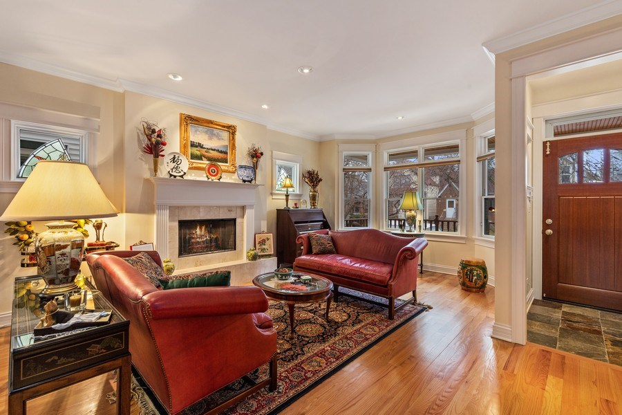 Real Estate Photography - 1957 W. Summerdale Avenue, Chicago, IL, 60640 - Living Room