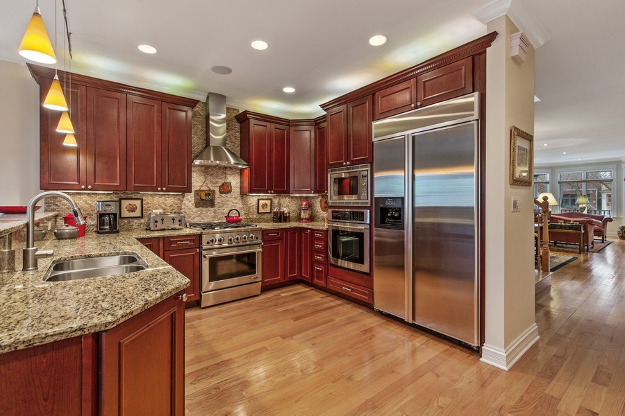 Real Estate Photography - 1957 W. Summerdale Avenue, Chicago, IL, 60640 - Kitchen