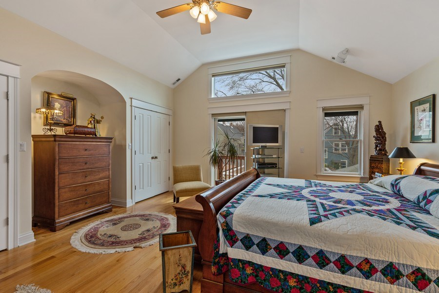 Real Estate Photography - 1957 W. Summerdale Avenue, Chicago, IL, 60640 - Master Bedroom