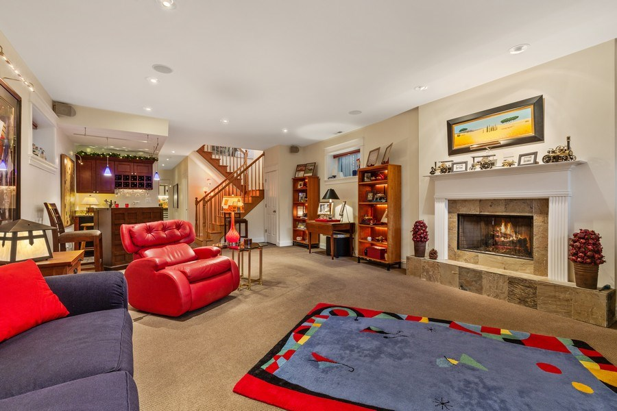 Real Estate Photography - 1957 W. Summerdale Avenue, Chicago, IL, 60640 - Lower Level Rec Room