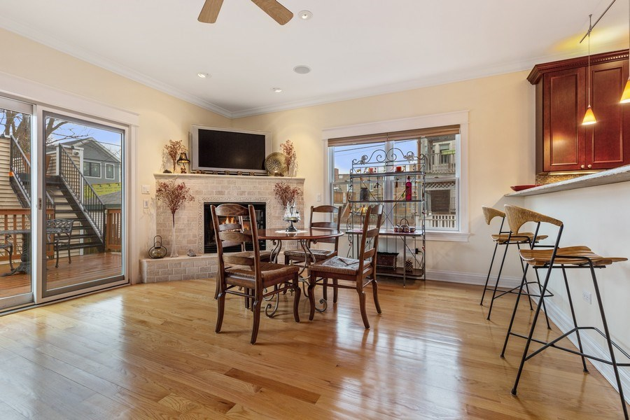 Real Estate Photography - 1957 W. Summerdale Avenue, Chicago, IL, 60640 - Breakfast Area