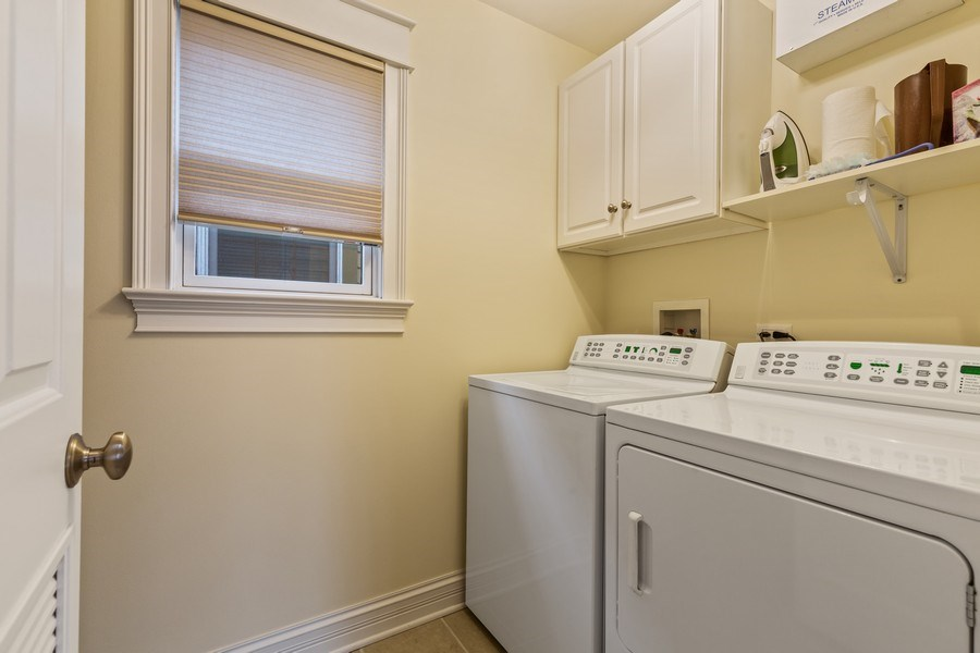 Real Estate Photography - 1957 W. Summerdale Avenue, Chicago, IL, 60640 - 2nd Floor Laundry Room