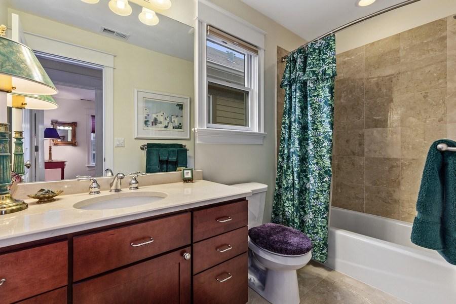 Real Estate Photography - 1957 W. Summerdale Avenue, Chicago, IL, 60640 - 2nd Floor Hallway Bathroom