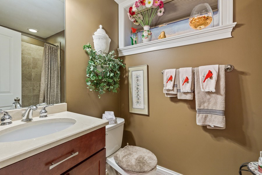 Real Estate Photography - 1957 W. Summerdale Avenue, Chicago, IL, 60640 - Lower Level Bathroom