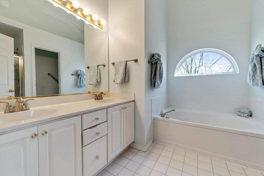 Real Estate Photography - 1171 Alder, Bartlett, IL, 60103 - Master Bathroom