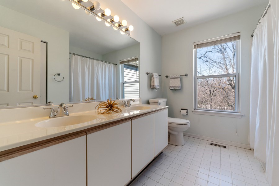 Real Estate Photography - 1171 Alder, Bartlett, IL, 60103 - 2nd Bathroom