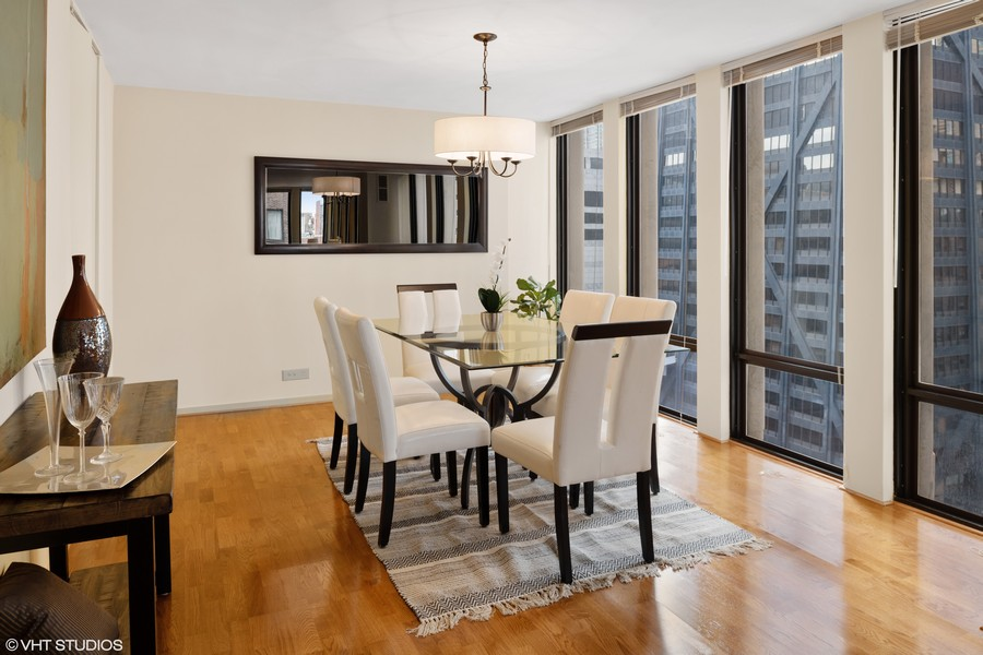 Real Estate Photography - 200 E. Delaware Place, Unit 15A, Chicago, IL, 60611 - Dining Room