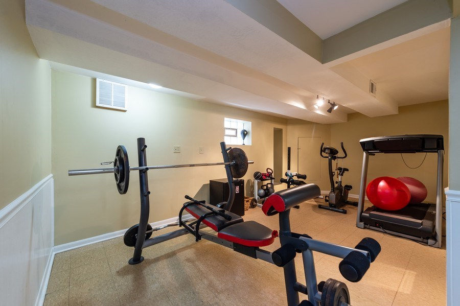 Real Estate Photography - 3812 Cleveland Ave, Brookfield, IL, 60513 - Exercise Room