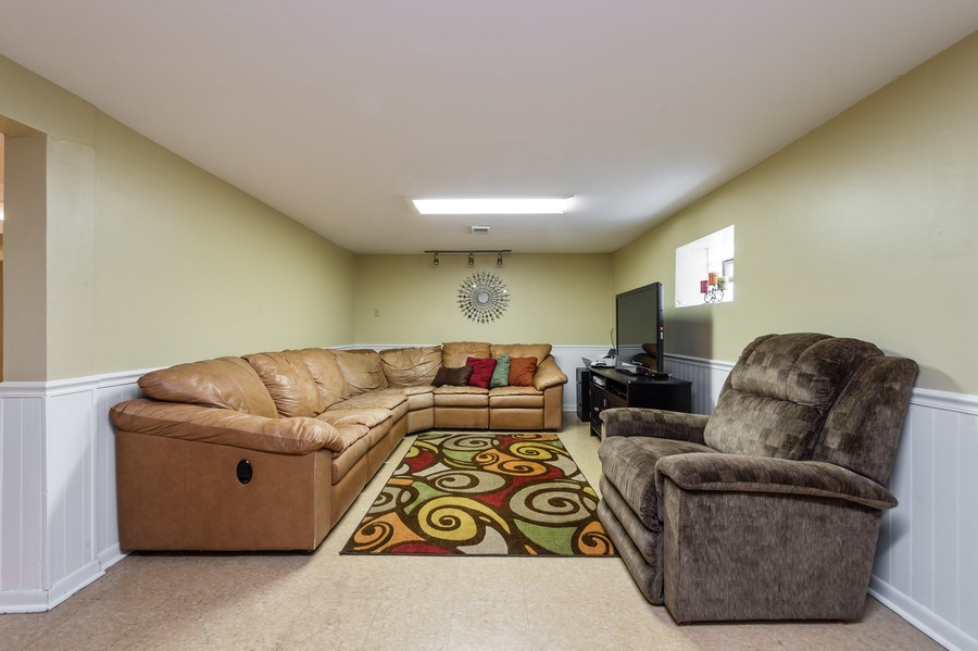Real Estate Photography - 3812 Cleveland Ave, Brookfield, IL, 60513 - Family Room