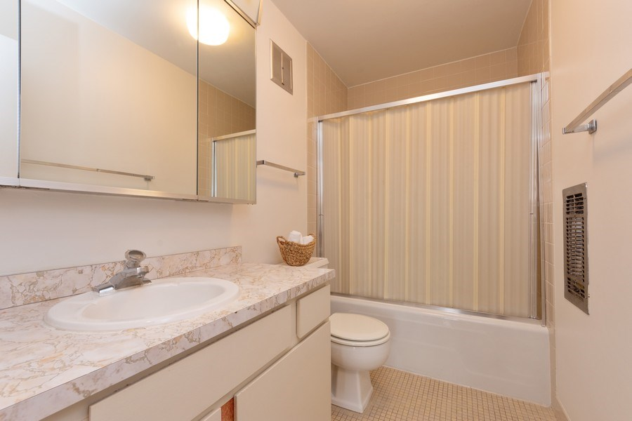 Real Estate Photography - 1515 E Central rd #465B, Arlington Heights, IL, 60005 - 2nd Bathroom