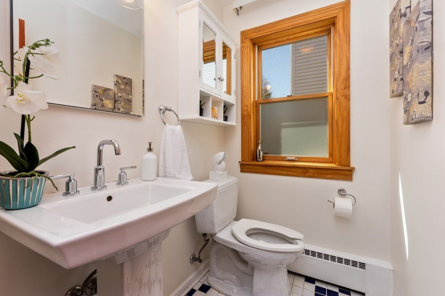 Real Estate Photography - 1055 E Mayfair st, Arlington Heights, IL, 60004 - Powder Room