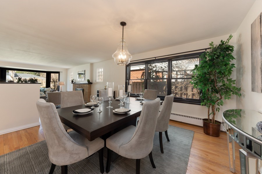 Real Estate Photography - 1055 E Mayfair st, Arlington Heights, IL, 60004 - Dining Room