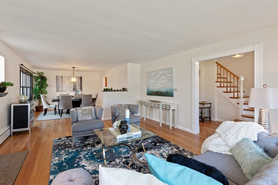 Real Estate Photography - 1055 E Mayfair st, Arlington Heights, IL, 60004 - Living Room / Dining Room