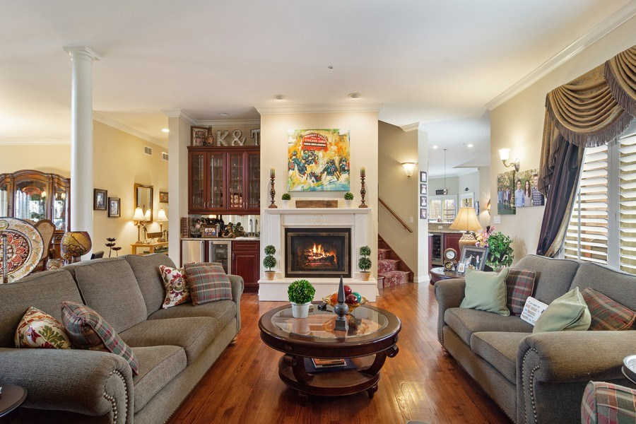 Real Estate Photography - 4575 Pamela court, Long Grove, IL, 60047 - Living Room