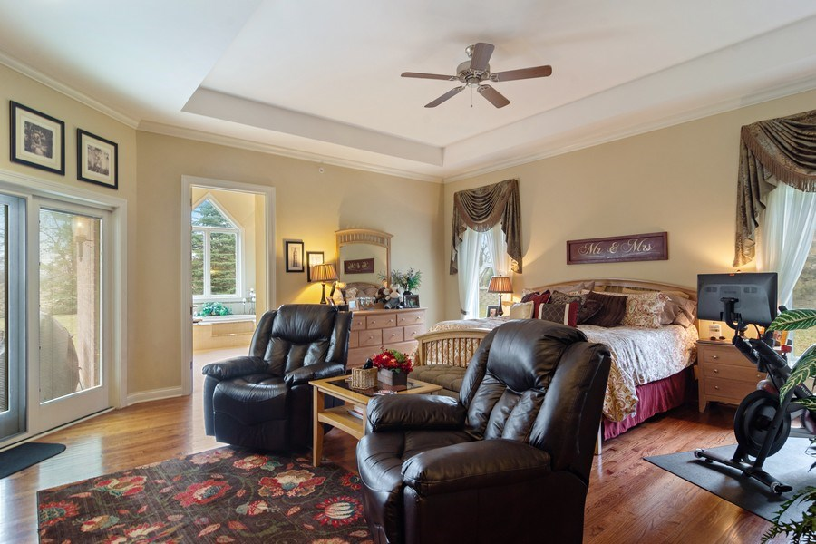 Real Estate Photography - 4575 Pamela court, Long Grove, IL, 60047 - Master Bedroom
