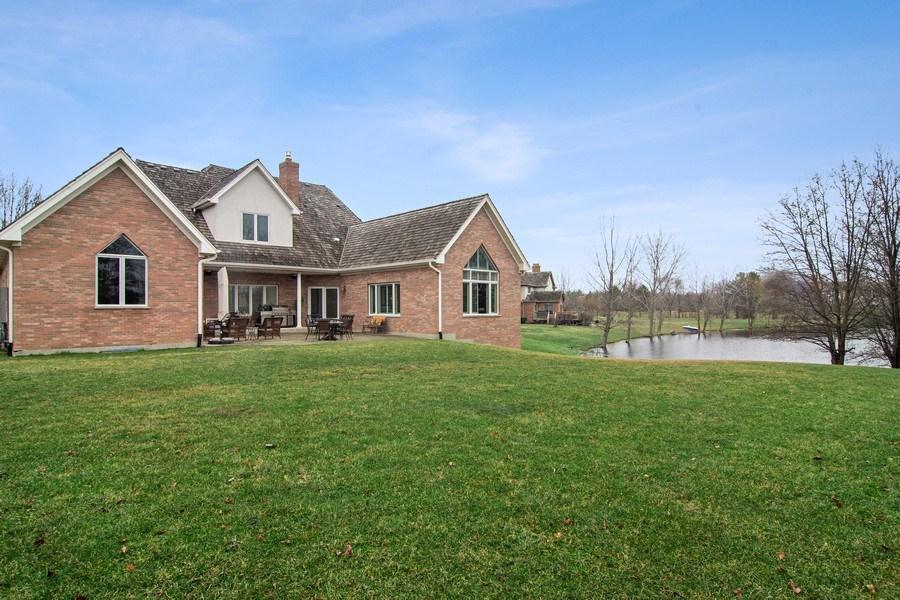 Real Estate Photography - 4575 Pamela court, Long Grove, IL, 60047 - Back Yard