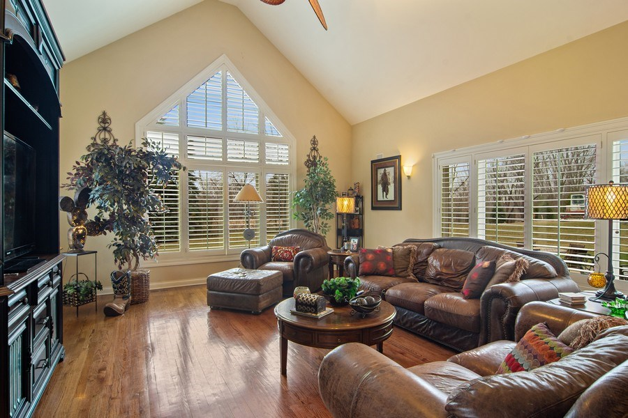 Real Estate Photography - 4575 Pamela court, Long Grove, IL, 60047 - Family Room