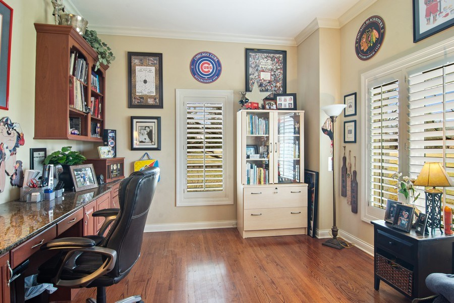 Real Estate Photography - 4575 Pamela court, Long Grove, IL, 60047 - Office