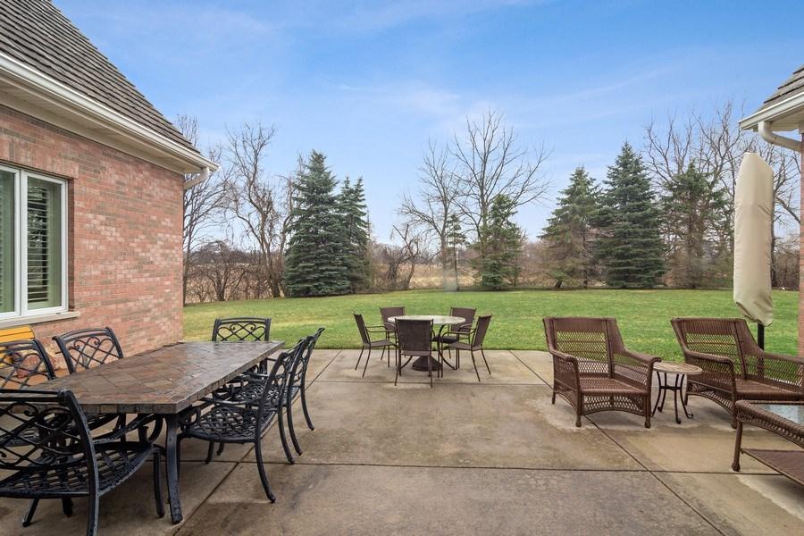 Real Estate Photography - 4575 Pamela court, Long Grove, IL, 60047 - Patio