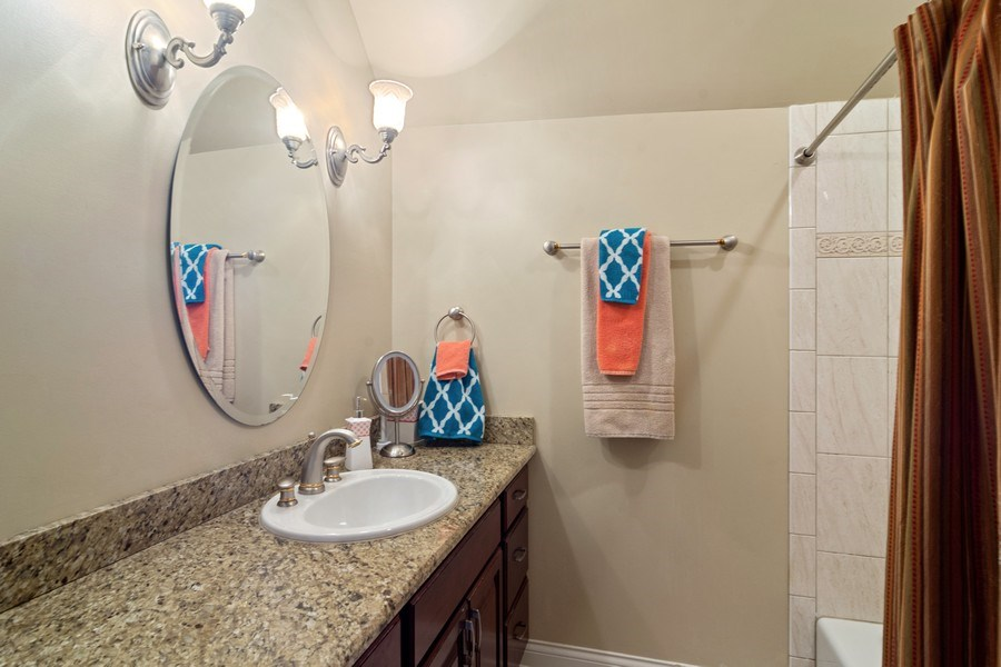 Real Estate Photography - 4575 Pamela court, Long Grove, IL, 60047 - 2nd Bathroom
