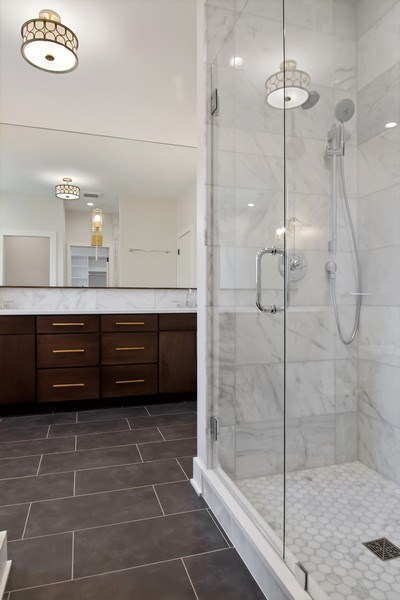 Real Estate Photography - 2430 Sumac Circle, Glenview, IL, 60025 - Master Bathroom