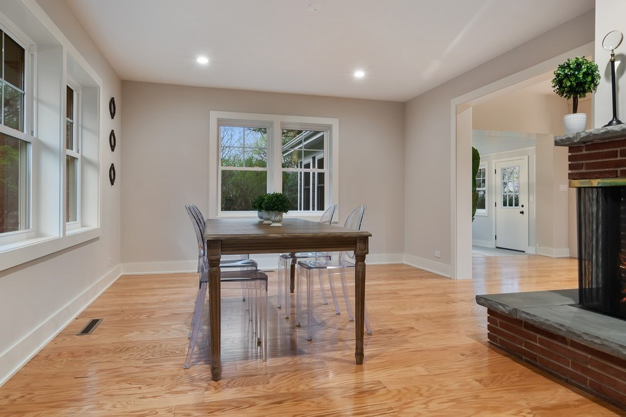Real Estate Photography - 2430 Sumac Circle, Glenview, IL, 60025 - Dining Room