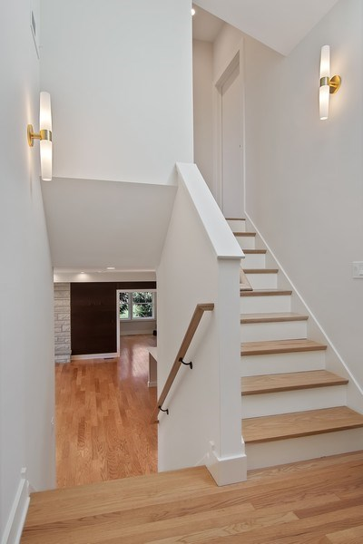 Real Estate Photography - 2430 Sumac Circle, Glenview, IL, 60025 - Staircase