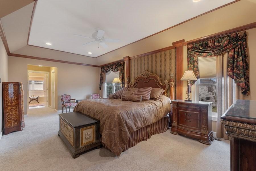 Real Estate Photography - 0S347 Grengs Lane, Geneva, IL, 60134 - Master Bedroom