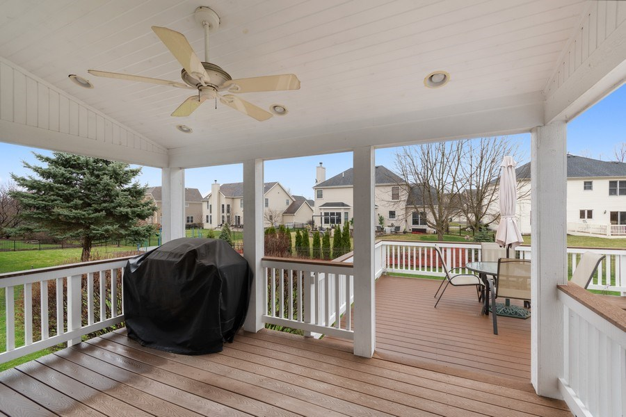 Real Estate Photography - 0S347 Grengs Lane, Geneva, IL, 60134 - Cover deck