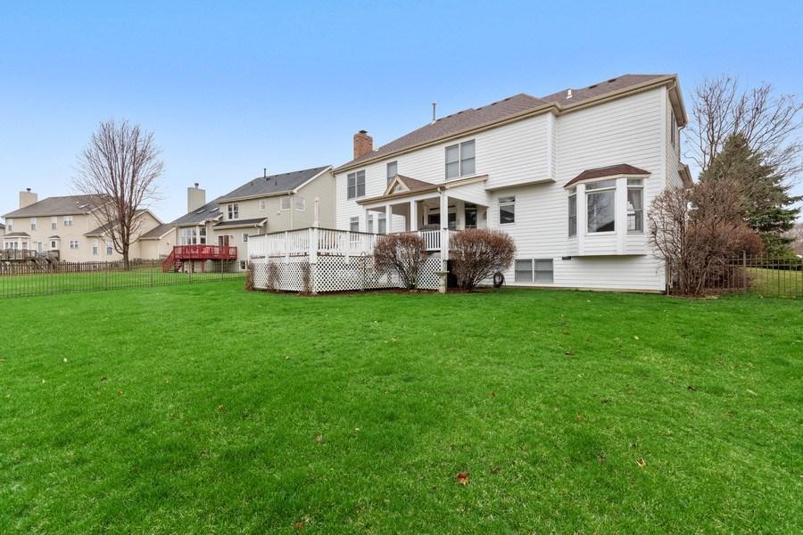 Real Estate Photography - 0S347 Grengs Lane, Geneva, IL, 60134 - Back Yard