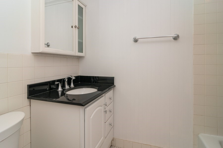 Real Estate Photography - 7320 Dixon Ave, Unit 303, Forest Park, IL, 60130 - Master Bathroom