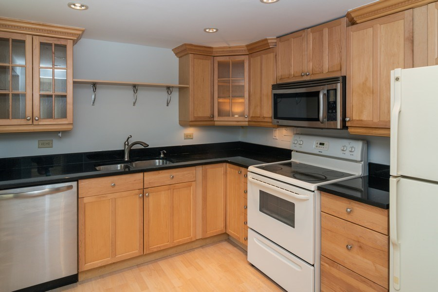 Real Estate Photography - 7320 Dixon Ave, Unit 303, Forest Park, IL, 60130 - Kitchen