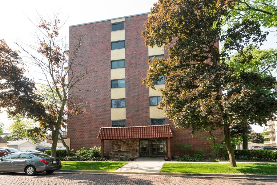 Real Estate Photography - 7320 Dixon Ave, Unit 303, Forest Park, IL, 60130 - Front View