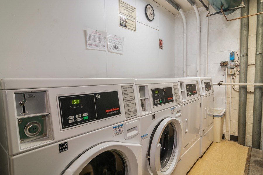 Real Estate Photography - 7320 Dixon Ave, Unit 303, Forest Park, IL, 60130 - Laundry Room