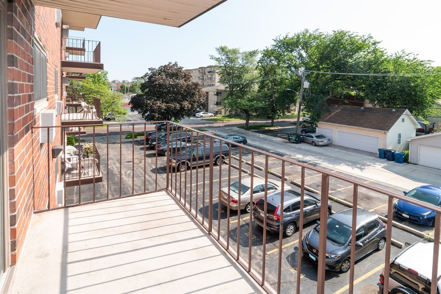 Real Estate Photography - 7320 Dixon Ave, Unit 303, Forest Park, IL, 60130 - Balcony