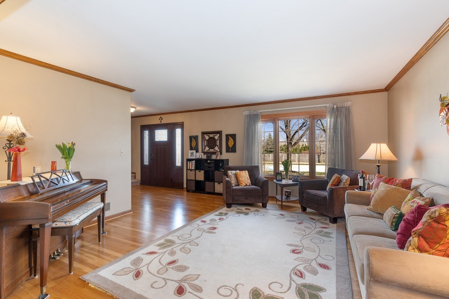 Real Estate Photography - 1844 N. Wilson Place, Arlington Heights, IL, 60004 - Living Room