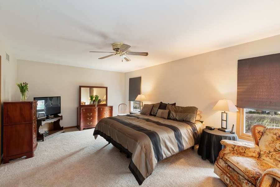 Real Estate Photography - 1844 N. Wilson Place, Arlington Heights, IL, 60004 - Master Bedroom