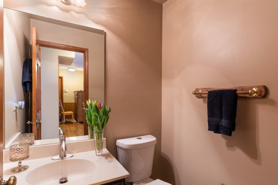 Real Estate Photography - 1844 N. Wilson Place, Arlington Heights, IL, 60004 - Powder Room