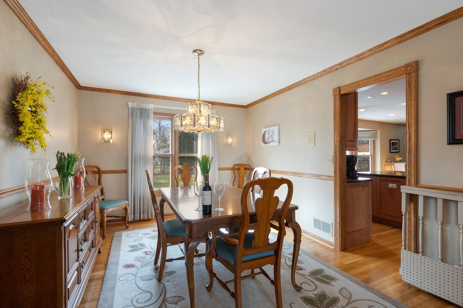 Real Estate Photography - 1844 N. Wilson Place, Arlington Heights, IL, 60004 - Dining Room