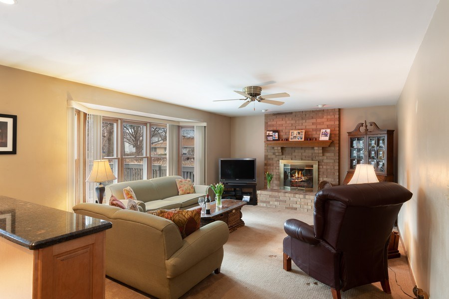 Real Estate Photography - 1844 N. Wilson Place, Arlington Heights, IL, 60004 - Family Room