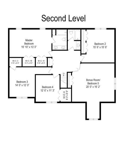 Real Estate Photography - 1844 N. Wilson Place, Arlington Heights, IL, 60004 - Floor Plan