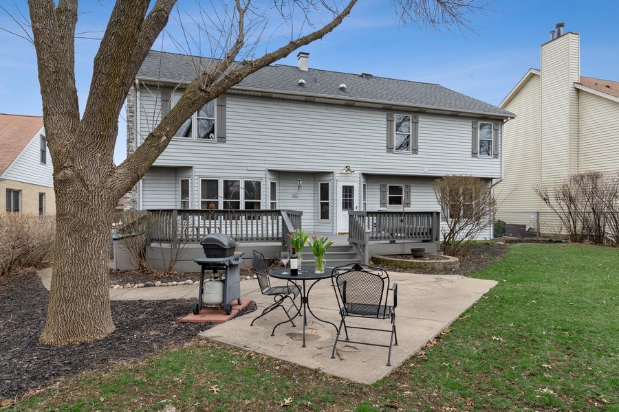 Real Estate Photography - 1844 N. Wilson Place, Arlington Heights, IL, 60004 - Rear View