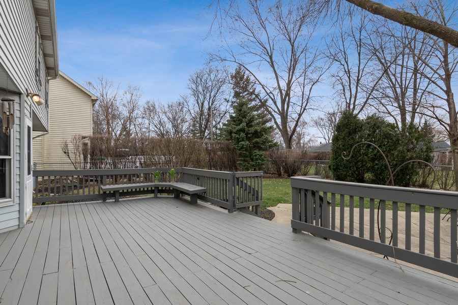 Real Estate Photography - 1844 N. Wilson Place, Arlington Heights, IL, 60004 - Deck