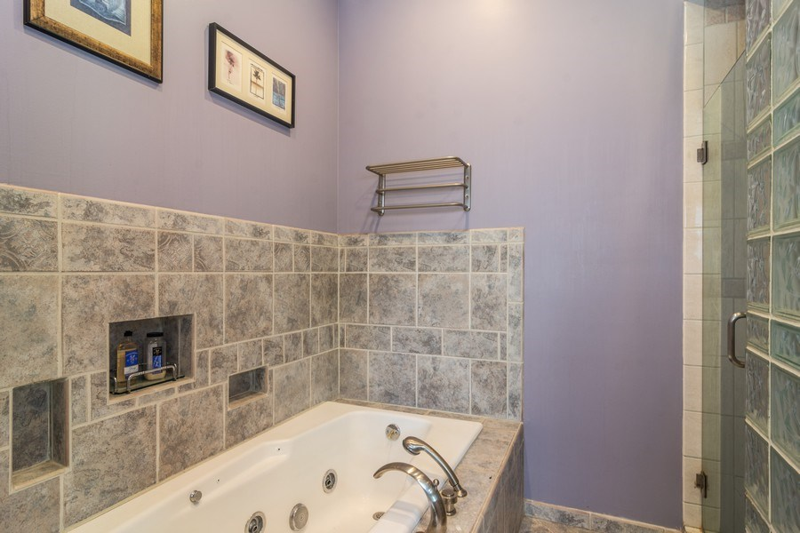 Real Estate Photography - 674 N Maple Ave, Palatine, IL, 60067 - Master Bathroom