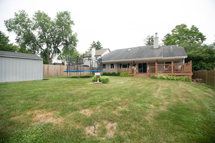 Real Estate Photography - 674 N Maple Ave, Palatine, IL, 60067 - Back Yard